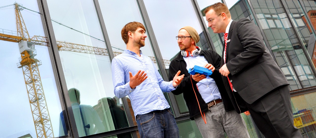 Start-Up mit Firmenkundenberater